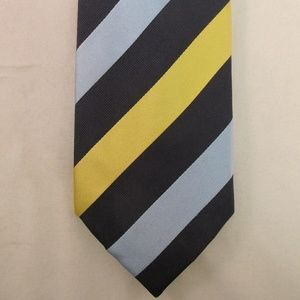 Charles Tyrwhitt Men's Striped Silk Tie